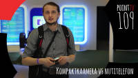 Point TV 109. Kompaktkaamera vs nutitelefon