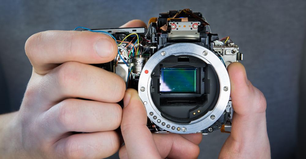 Kuidas aru saada et peegelkaamera sensor on must? Ja mida ette võtta?