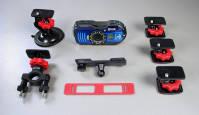 Kuidas kinnitada Ricoh WG-4/WG-M1 kaamerat igasugu asjade külge?