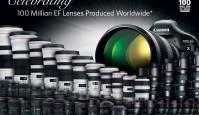 Canon tähistab 100 miljoni objektiivi tootmist