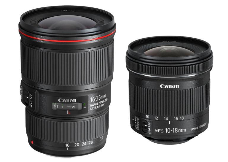 Canonilt uued lainurksuumid EF 16-35mm f/4L IS USM ja EF-S 10-18mm f/4.5-5.6 IS STM