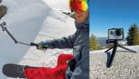 GoPro seikluskaamera uued lisatarvikud: 3-Way ja Bodyboard Mount