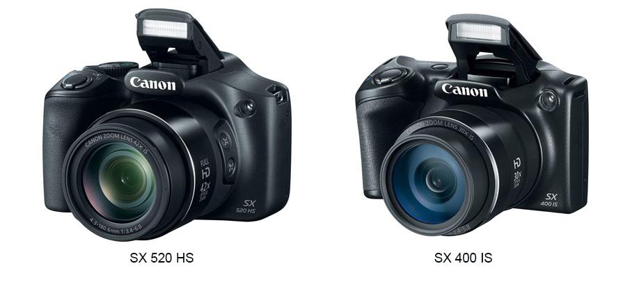 Canonilt uued soodsad supersuumkaamerad PowerShot SX520 HS ja PowerShot SX400 IS