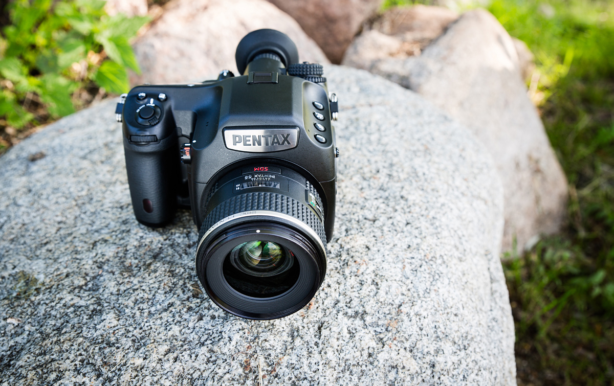 Karbist välja: Pentax 645Z keskformaatkaamera