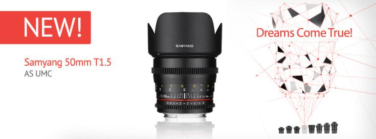 Samyang esitles kauaoodatud 50mm f/1.4 objektiivi