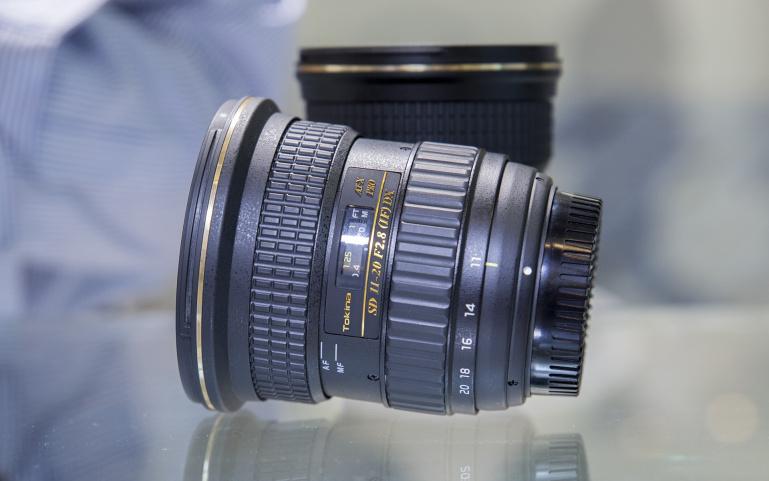 Tokina AT-X 11-20mm f/2.8 ja Tokina AT-X 24-70mm f/2.8 prototüübid Photokina fotomessil