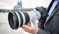 Canon EF 400mm f/4 DO IS II USM teleobjektiiv Photokina fotomessil