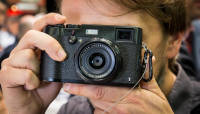 Suure sensoriga kompaktkaamera Fujifilm X100T Photokina 2014 fotomessil