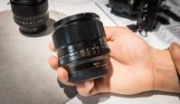 Integreeritud filtriga objektiiv Fujifilm 56mm f1.2 APD Photokina 2014 fotomessil