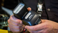 Nikoni soodne välklamp SP 500 Photokina 2014 fotomessil