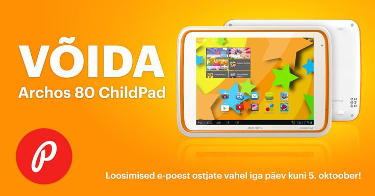 Photopoint.ee: soorita ost e-poes ning võida tahvelarvuti
