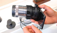 Sony QX1 - vahetatavate objektiividega objektiivkaamera Photokina 2014 fotomessil