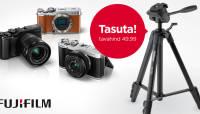 Fujifilm hübriidkaameratega saad kaasa kingituse