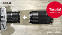 Fujifilm X-M1 hübriidkaamera ostul saad kingituseks telesuumobjektiivi