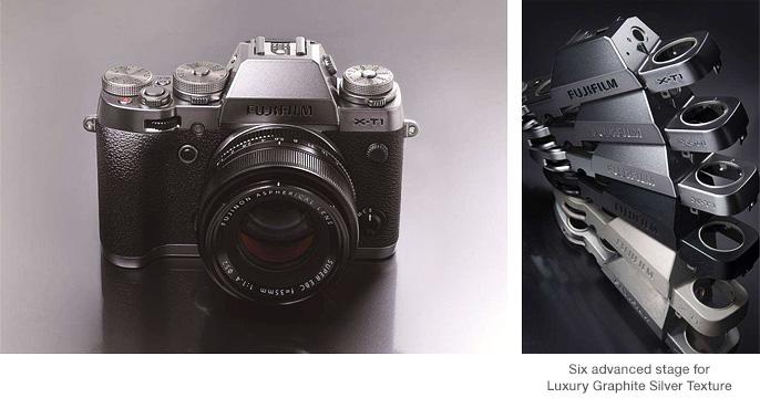 Fujifilm X-T1 Graphite Silver Edition hübriidkaamera tuleb koos tarkvarauuendusega