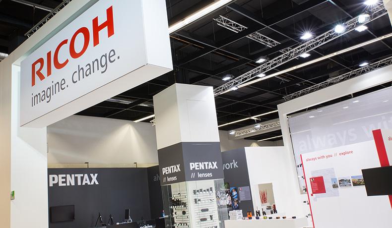 Ricoh (Pentax) Photokina messil