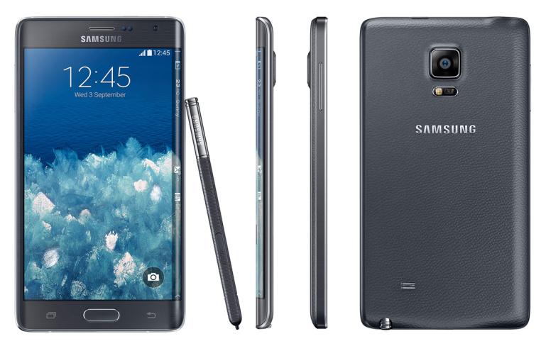 Samsung sikutas ekraani nutitelefoni servale - Galaxy Note Edge