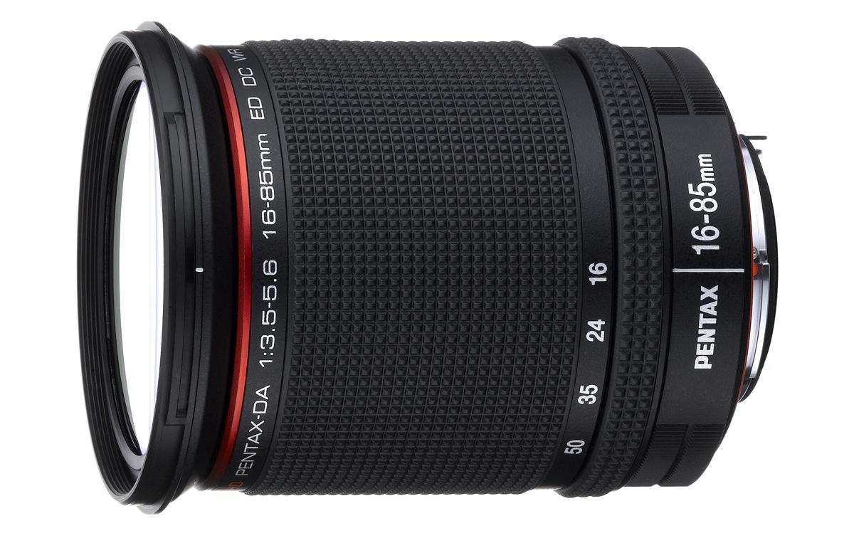 Pentax peegelkaamerad saavad uue 16-85mm F3.5-5.6 standardsuumobjektiivi