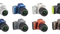 Pentax K-S1 peegelkaamerad on nüüd saadaval 12 erinevas värvitoonis