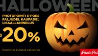 Suur halloweeni pidu Photopointi e-poes