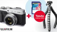 Uue Fujifilm X30 kompaktkaamera ostul kaasa kingitused
