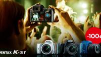 Ricoh lihvis Pentax K-S1 peegelkaamera hinnad väiksemaks
