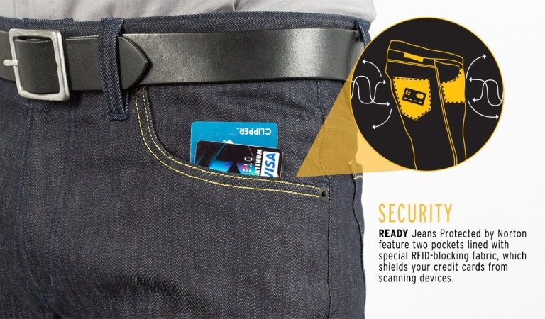 Hõbeniidiga teksapüksid asuvad võitlusse digitaalse taskuvargusega