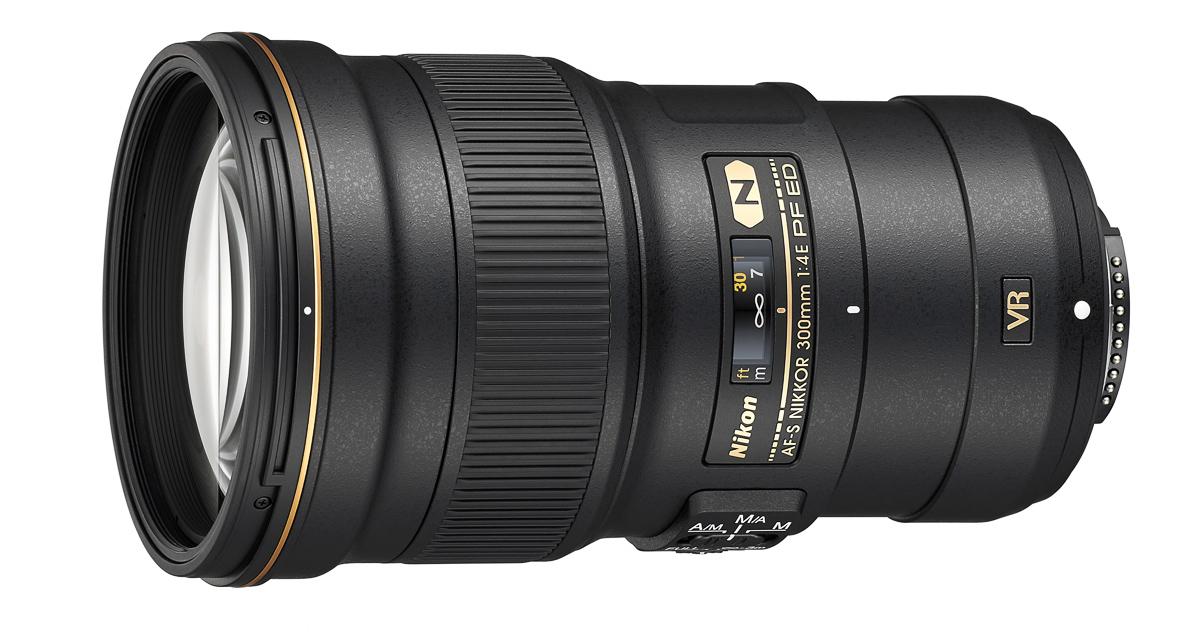 Nikon esitleb senisest kergemat ja väiksemat Nikkor 300mm f/4 teleobjektiivi