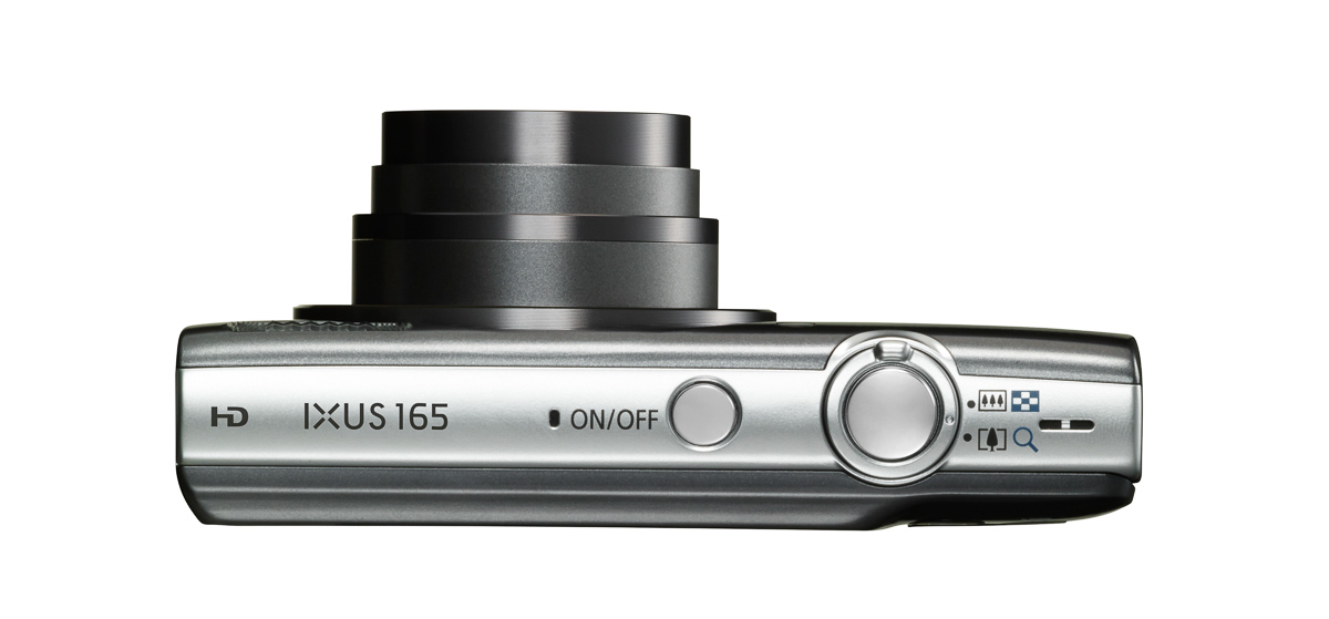 IXUS 165 SILVER TOP Lens Out