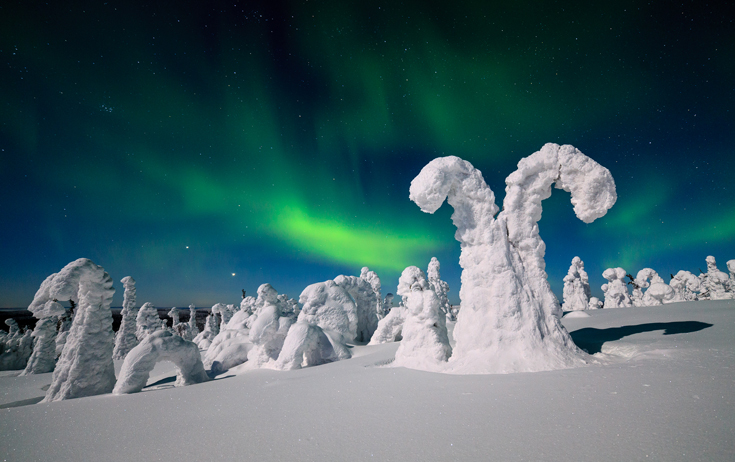 Soome virmalised / Northern Lights in Finland