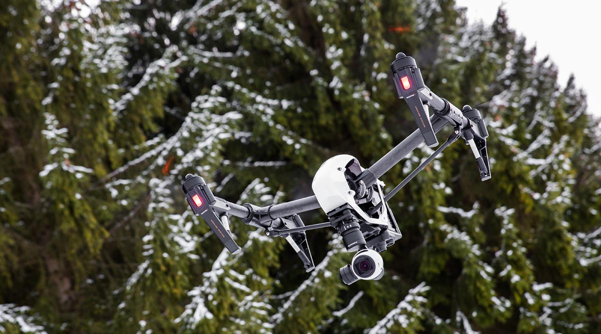 Karbist välja: DJI Inspire 1 droon