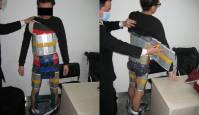 94 iPhone nutitelefoni teibiga ümber keha - salakaubavedaja tabati Hiina piiril