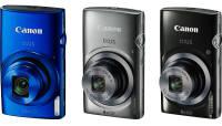 Canonilt kolm soodsat kompaktkaamerat: IXUS 170, IXUS 165  ja IXUS 160.