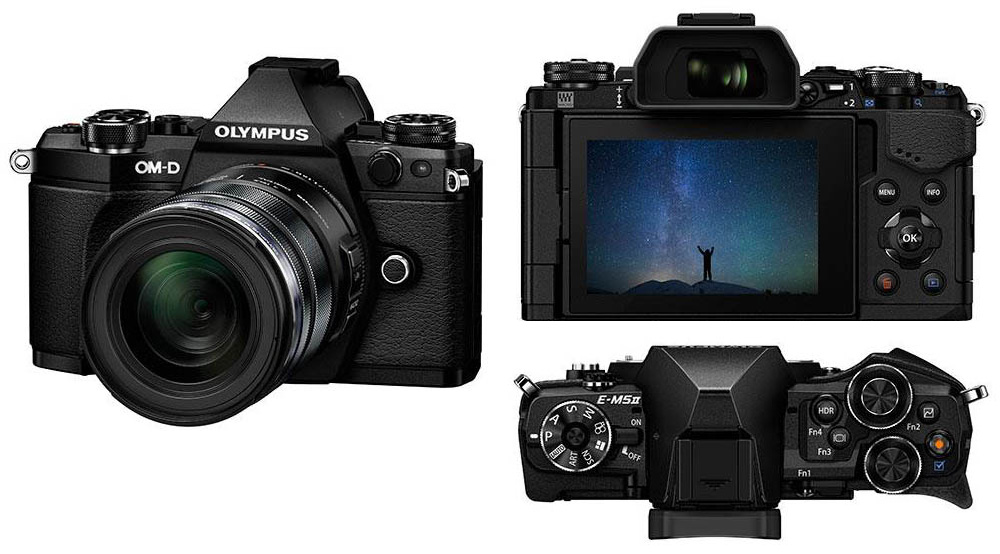 Paljastatud: Olympus E-M5 II tuleb tugeva korpuse ja Wi-Fi ühendusega pildistab statiivilt 40 MP fotosid