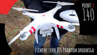 Point TV 140. Esimene lend DJI Phantom drooniga