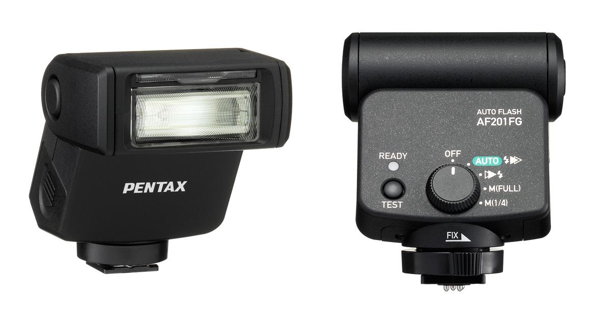 Pentax AF201FG on pisike, soodne ilmastikukindla korpusega välklamp
