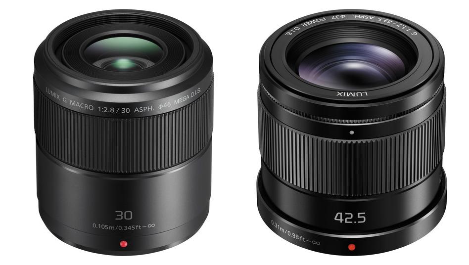 Panasonicult kaks uut objektiivi: 30mm F2.8 macro ja 42,5mm F1.7