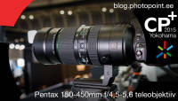 CP+ 2015: Käed küljes – Pentax 150-450mm f/4,5-5,6 teleobjektiiv