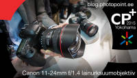 CP+ 2015: Canoni ülilainurksuumobjektiiv 11-24mm f/4.0