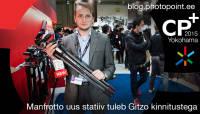 CP+ 2015: Manfrotto uus statiiv tuleb Gitzo kinnitustega