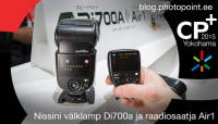 CP+ 2015: Nissini välklamp Di700a ja raadiosaatja Air1