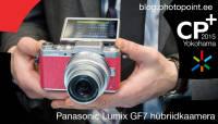 CP+ 2015: Selfie'd Panasonic GF7 hübriidkaameraga