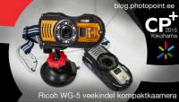 CP+ 2015: Käed küljes - veekindel kompaktkaamera Ricoh WG-5 GPS