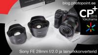 CP+ 2015: Sony lainurkkonverterid koos 28mm f/2.0 objektiiviga