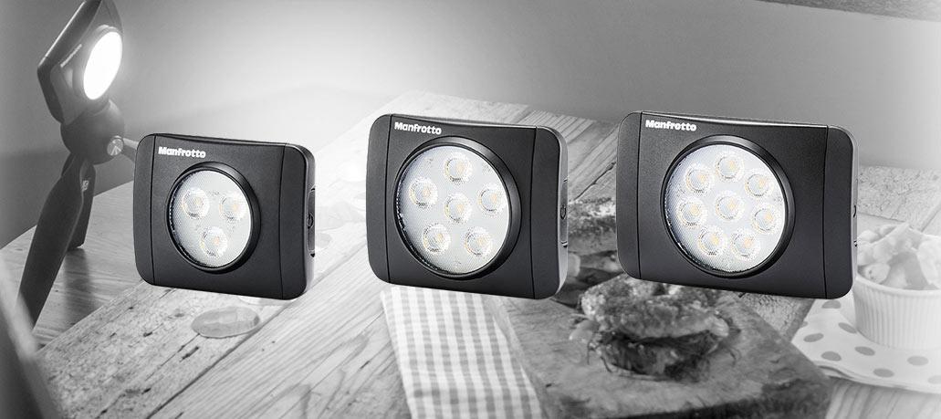 Manfrottolt uus LED-püsivalgustite seeria Lumie