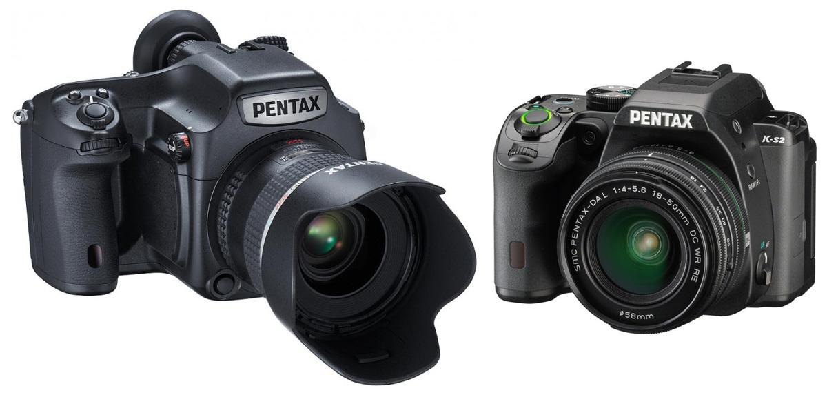 4d87fa40a59 Pentax K-S2 peegelkaamera ja Pentax 645Z keskformaatkaamera pärjati ...