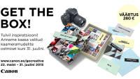 Valitud Canoni kaameramudelite ostul saad Canonilt karbitäie lisaväärtust