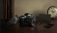 Olympus OM-D E-M5 II Titanium on erimudel austamaks Olympus 3Ti peegelkaamerat