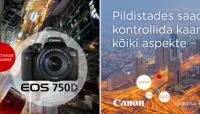 Uhiuue Canon EOS 750D või 760D ostul saad Canonilt raha tagasi
