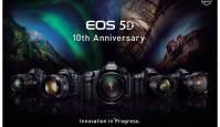 Juubilar: Canon EOS 5D seeria saab 10-aastaseks